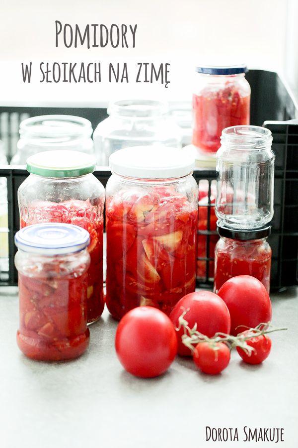 Pomidory w słoikach na zimę
