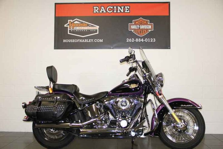Used 2011 Harley-Davidson FLSTC - Heritage Softail Classic Motorcycles For Sale in Wisconsin,WI. 2011 Harley-Davidson FLSTC - Heritage Softail Classic, Stop in or call to make an appointment for a NO OBLIGATION test ride!!! FINANCING AVAILABLE Like us on Facebook 2011 Harley-Davidson® Heritage Softail® Classic The 2011 Harley-Davidson® Heritage Softail® Classic motorcycle FLSTC is fully equipped with modern touring capabilities and even has a removable motorcycle windshield. Enjoy mile…