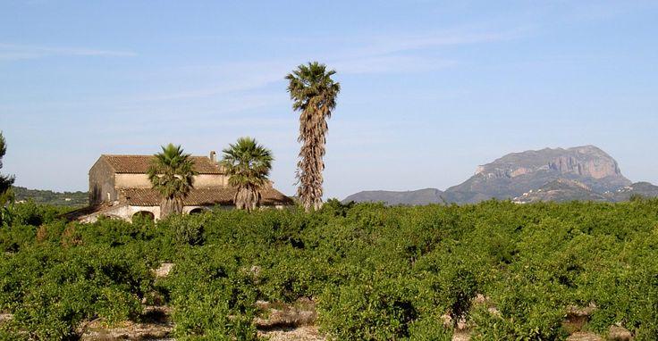 Masia en la Vall de la Rectoría, Marina Alta España