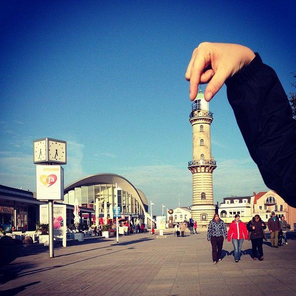 Endlich hält einer den Leuchtturm fest ;)