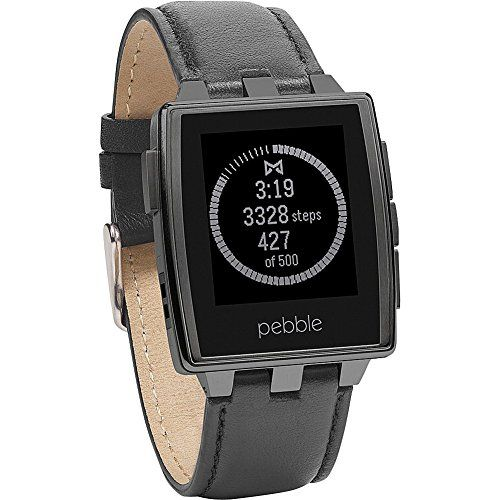 Now available Pebble Steel Smart Watch for iPhone and Android Devices