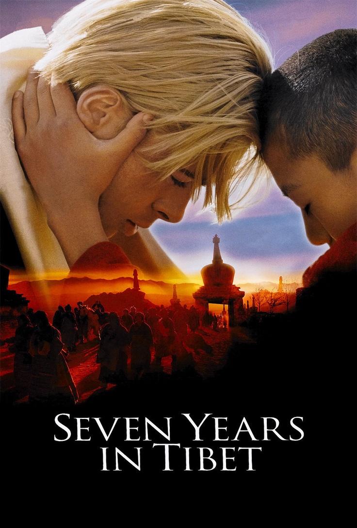 Seven Years in Tibet - Jean-Jacques Annaud (1997) starring Brad Pitt, David Thewlis & BD Wong