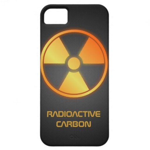 radioactive carbon fiber iPhone 5 case by BannedWare