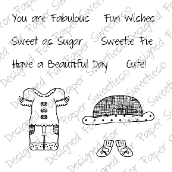You Are Fabulous - www.papersweeties.comSweetie Stamps, Www Papersweeties Com, Paper Sweetie