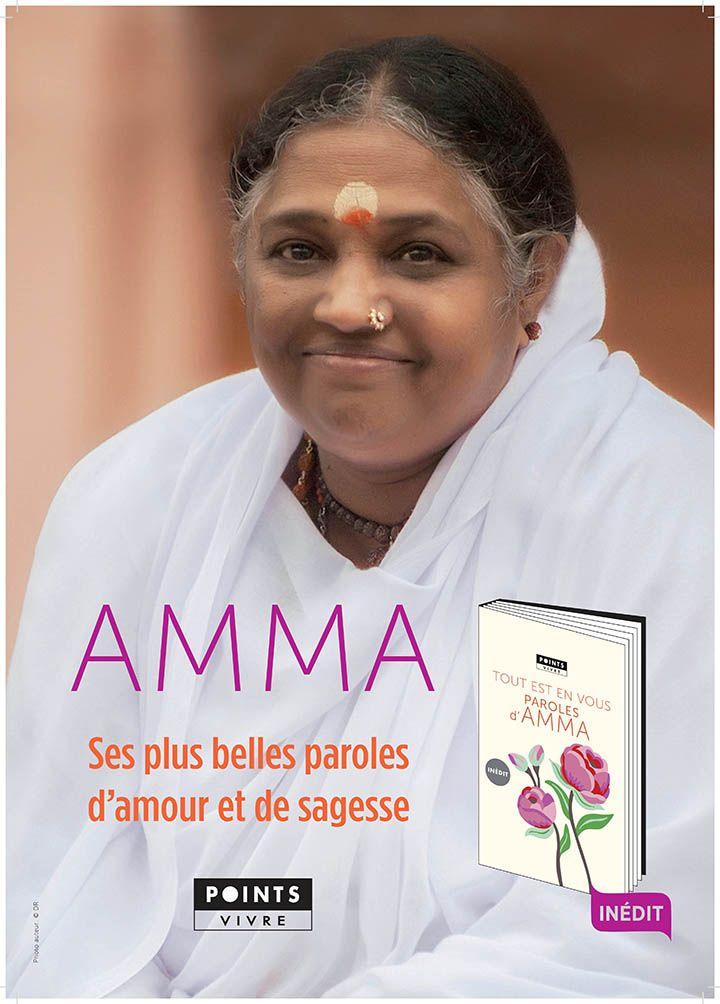 Sortie d'un livre de citation d'Amma aux Editions Seuil!   ETW France – Amma