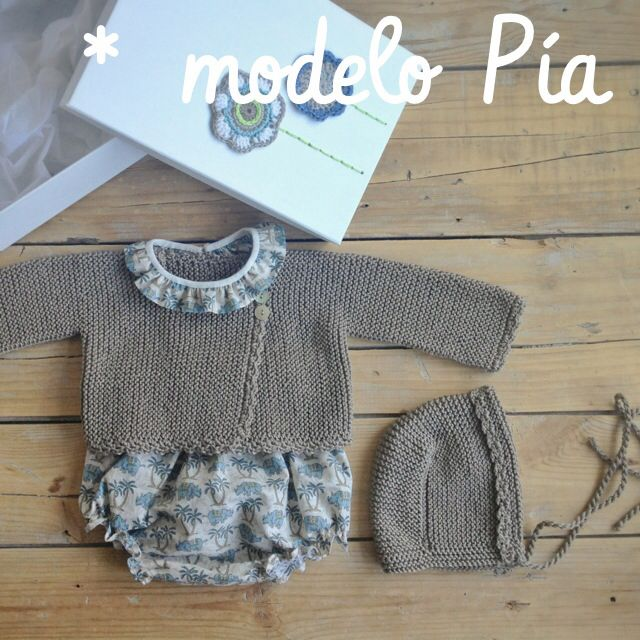 pelote de laine | girl baby outfit