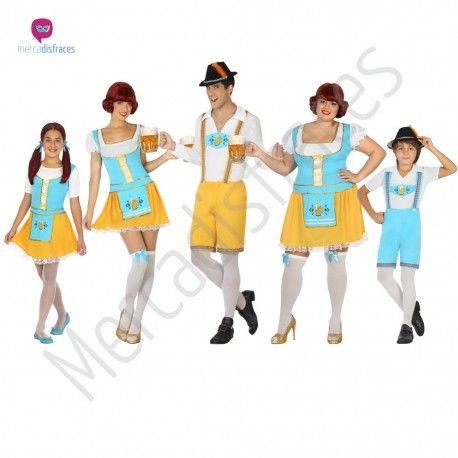 #Disfraz de #Alemana para niña #disfraces para #grupos y #comparsas perfectos para #carnaval. #disfraces #baratos en #mercadisfraces #tienda de #disfraces #online