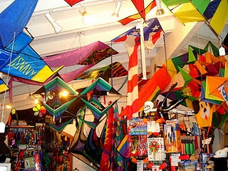 Kite Store, Door County, WI - Just jam packed with things that makes you smile wherever you look.