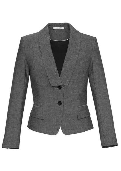 Biz Corporates Ladies Cropped Suit Jacket