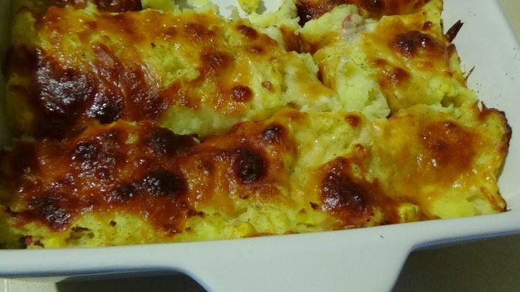 Пюре с начинкой в сыре.Супер вкусно и просто!