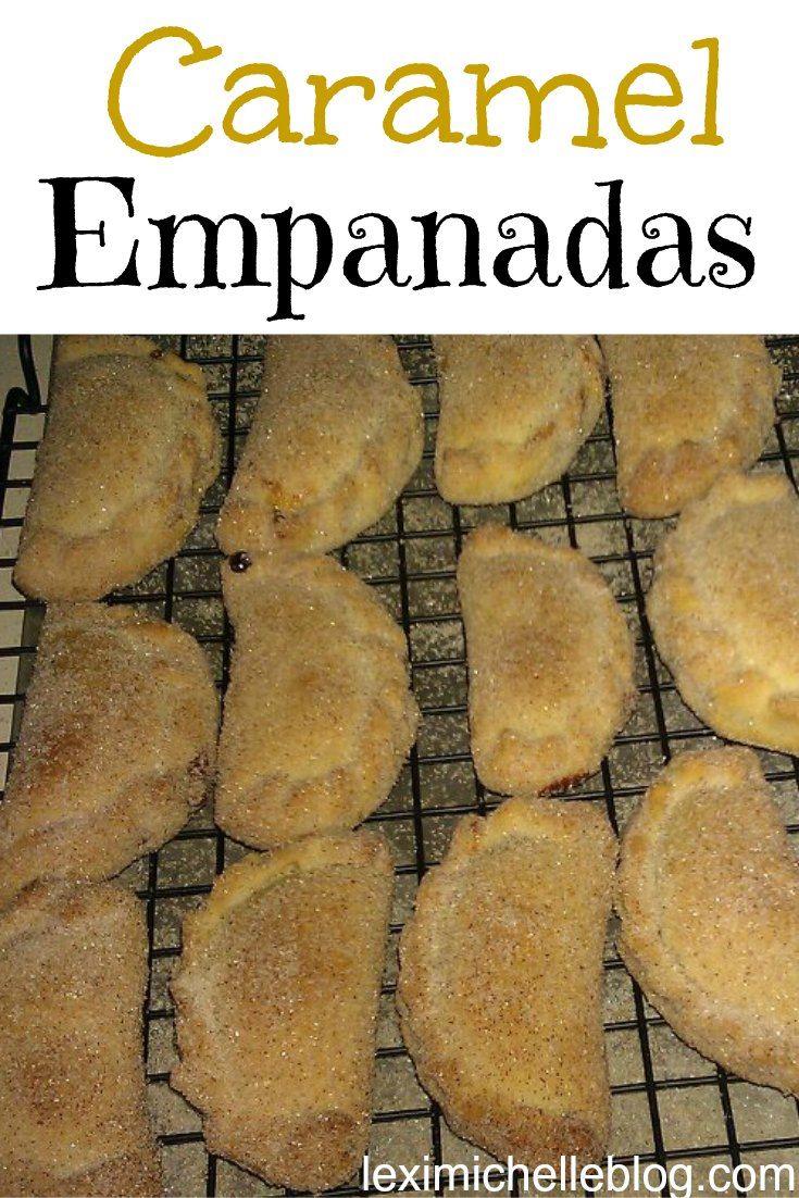Authentic Caramel Empanadas recipe- receta de empanadas de cajeta