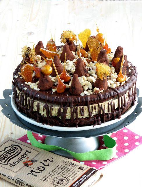 .: Tort pralinat cu trufe