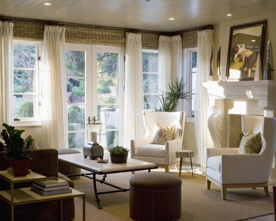 Living Room Curtains Design, Pictures, Remodel, Decor and Ideas - page 8