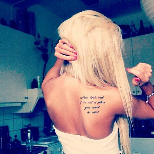 Tattoo Quotes Back Shoulder: Best 20+ Back Tattoo Placements Ideas On Pinterest