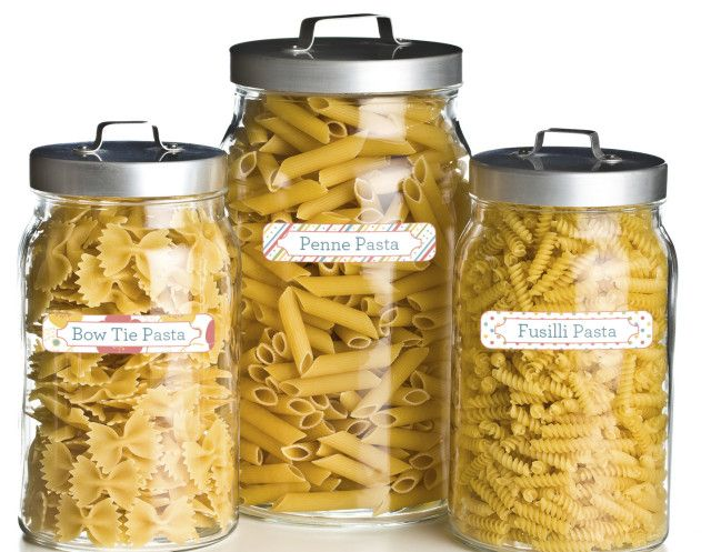 Mabel's Labels will get your home in order. #weePLANFood Storage Container, Kitchens Organic, Canisters Labels, Jars Labels, Households Labels, Food Canisters, Households Organic, Chalkboards Labels, Mabel Labels
