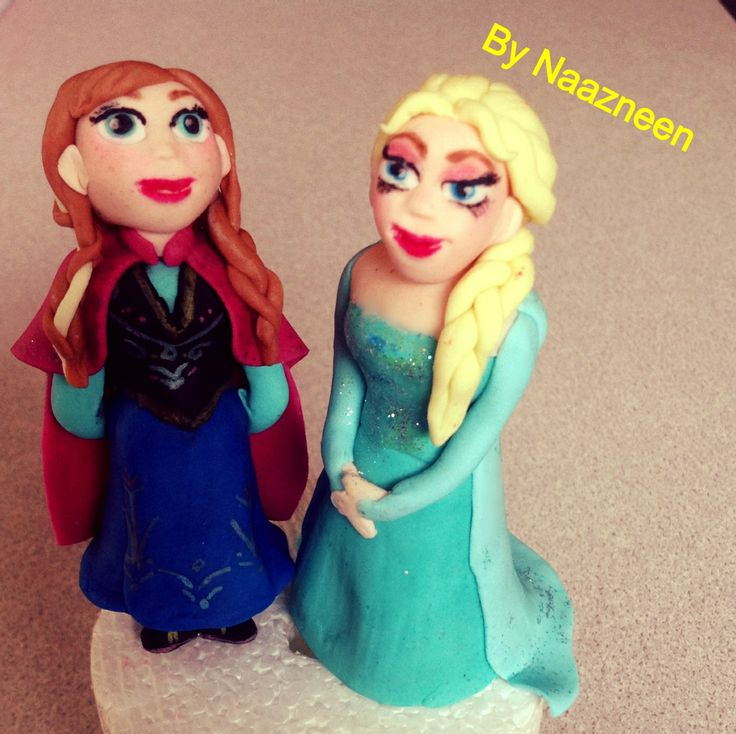 Frost characters cake toppers 1 by Naazneen