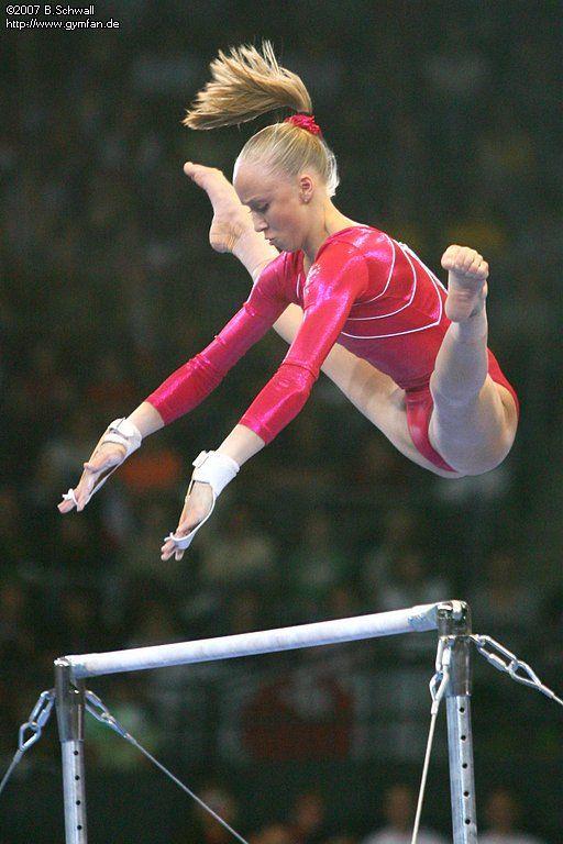 Anastasia Liukin (USA) world championships 2007  Stuttgart, 08/28/2007 - 09/09/2007  apparatus finals day 1