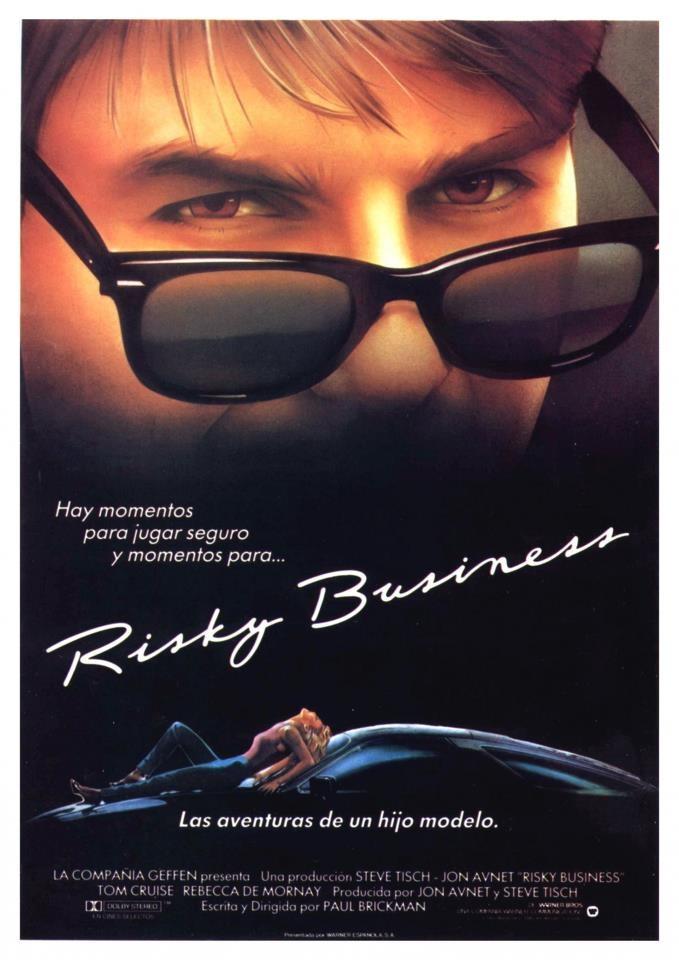 Negócio Arriscado (Risky Business), 1983.