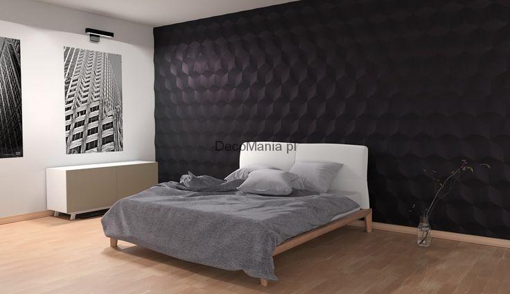 Panel ścienny 3D - Kalithea - QubeIQ   DecoMania.pl