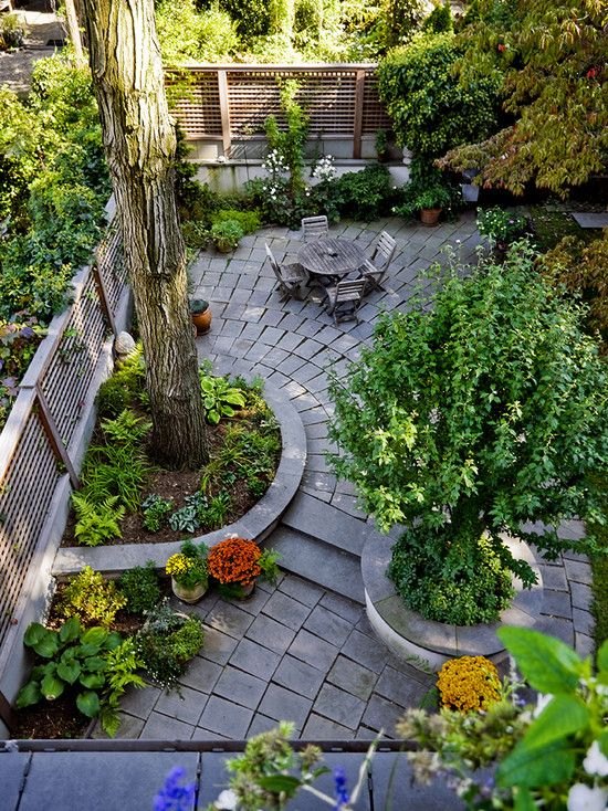 Best 25 townhouse landscaping ideas on pinterest city Townhouse backyard ideas photos