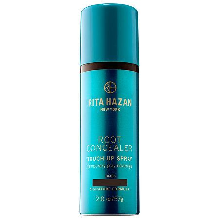 Shop Rita Hazan's Root Concealer Touch-Up Spray Temporary Gray Coverage at Sephora. The temporary spray touches up roots and covers grey hair.