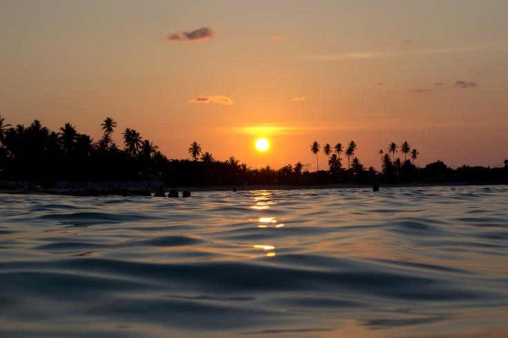 Atardecer en San Andres Islas