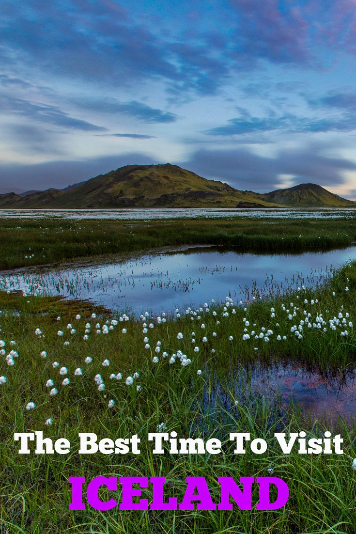 When is the best time to visit Iceland? Here is everything you need to know about the seasons in Iceland. Tips for visiting Iceland in the spring, summer, fall, and winter.