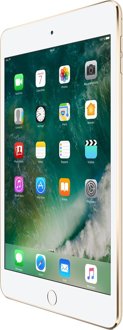 L'iPadmini4 est disponible en argent, or ou gris sidéral en plusieurs capacités de stockage. Achetez en ligne ou rendez-vous dans un Apple Store.