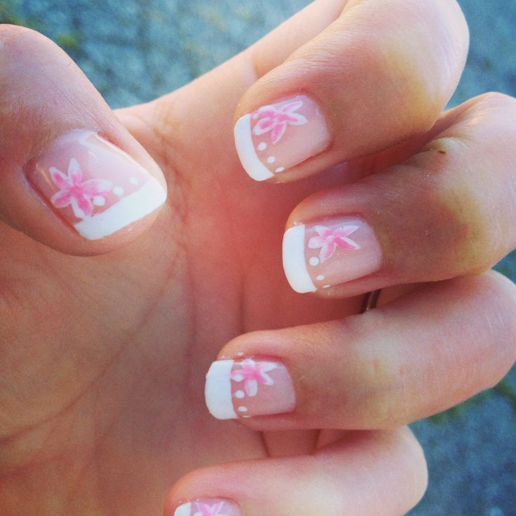 Shellac French tipNails Style, Nails Art, Nails Design, Beautiful
