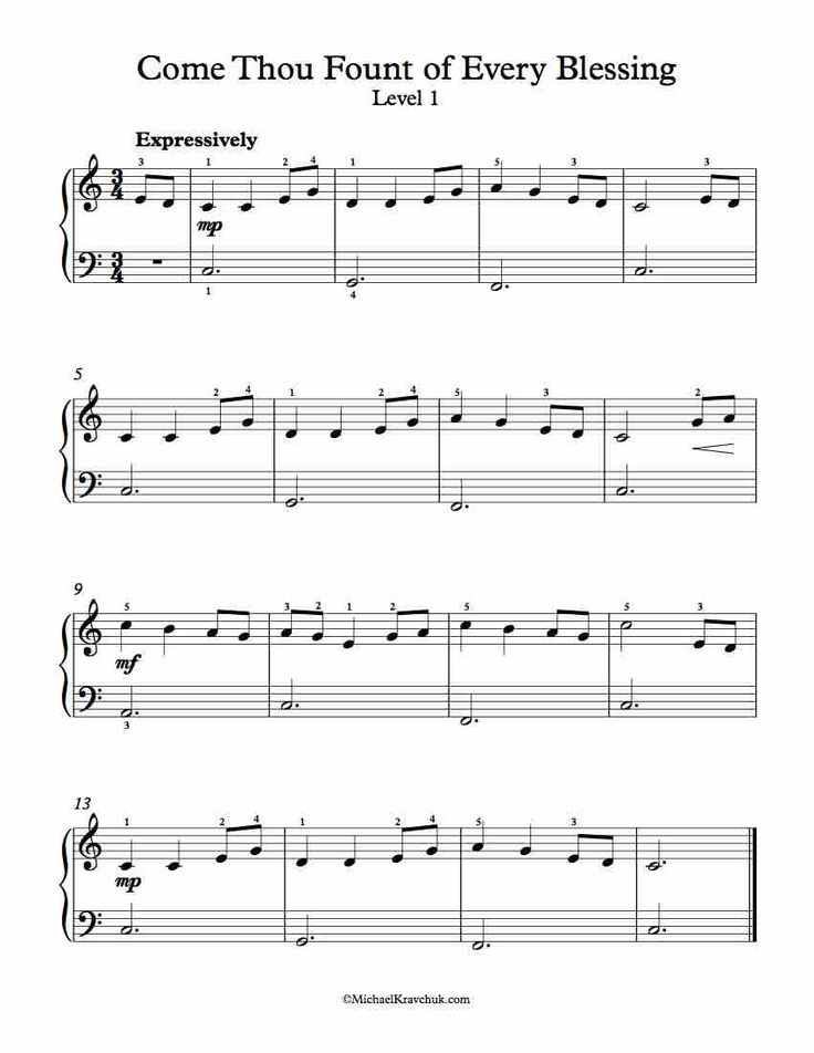 Mumford & Sons - Come Thou Fount Of Every Blessing (Chords)
