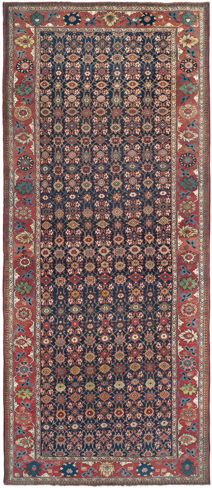 Article On The History And Artistic Design On Century Bijar (Bidjar)  Antique Oriental Rugs. Antique Bijar Rugs And Carpets From Claremont Rug  Company.