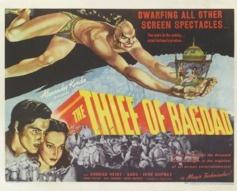 1940 'The Thief Of Bagdad' Original US Film Poster #vintageposters #vintageseekers
