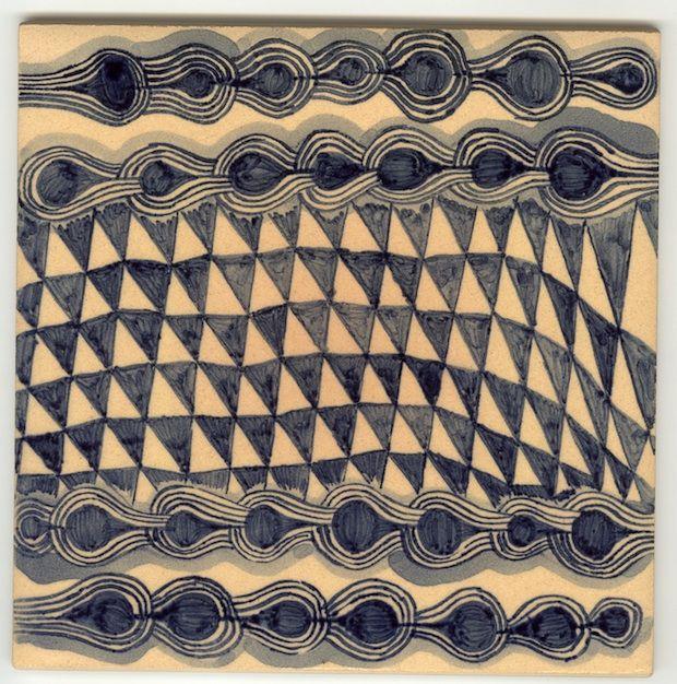 Ruan hoffmann tile: Test Patterns, Hoffmann Tile Repin, Mlm Tribal, Decor Tile, Ruan Hoffmann, Hoffmann Tile It, Tile Series, Tribal Border, Mim Border