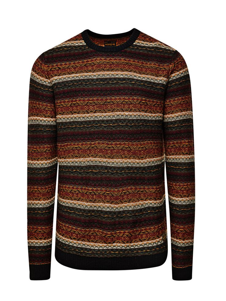 WOLLMIX PULLOVER, Black