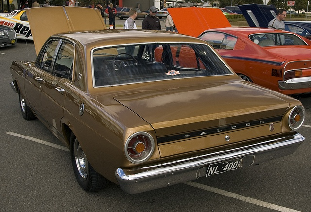 1968 Ford XR Falcon GT - Our family car except in powder blue