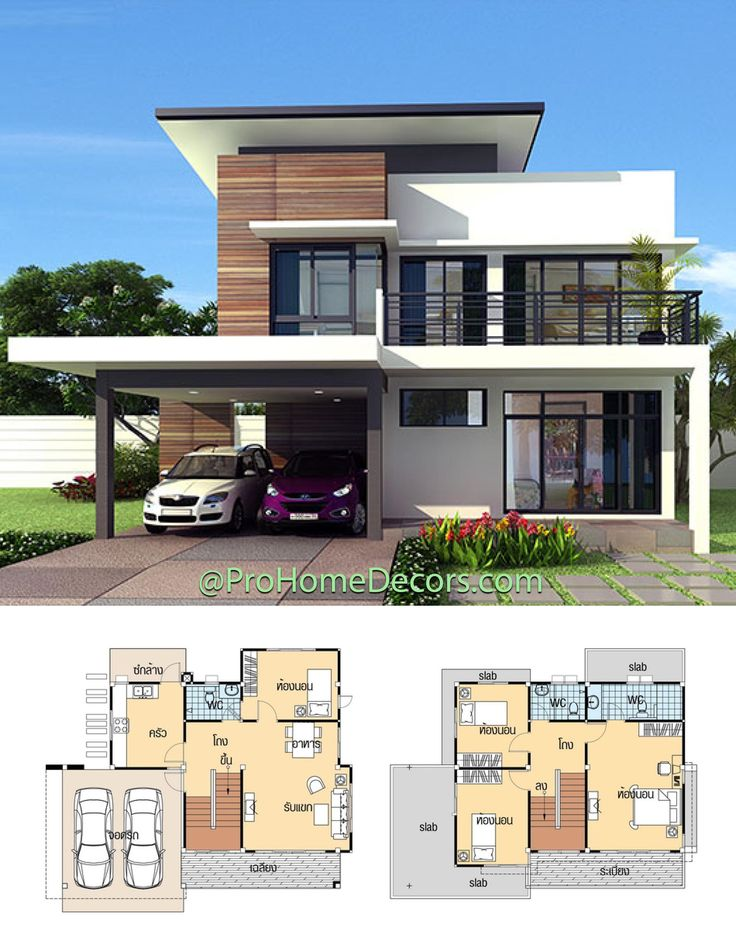 House Plans 11 5x9 With 4 Bedrooms In 2021 House Plan Gallery Small Modern House Plans Model House Plan