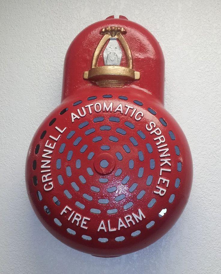 Bells Fire Safety : Best images about vintage fire sprinkler protection on