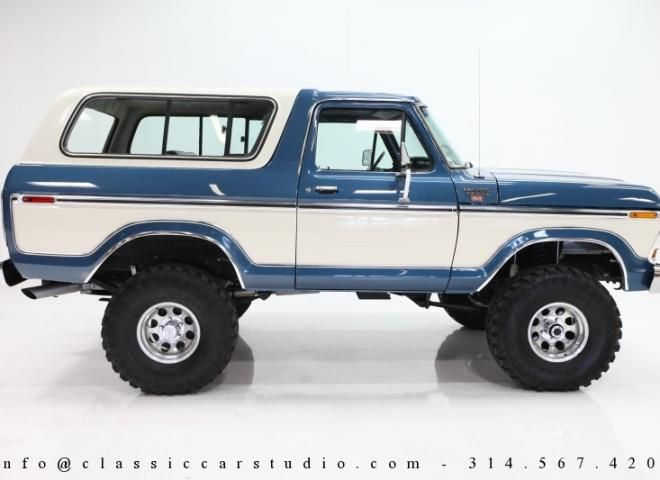 1436-1979-Ford-Bronco-Custom-XLT-SUV-4 | Trocas ford, Ford ...