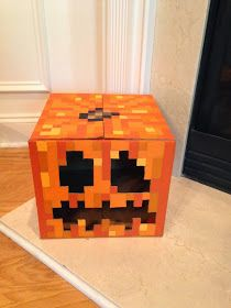 My son asked me back in September if you could buy a square pumpkin. It didn't take me long to figure out what my geekling was actually afte...