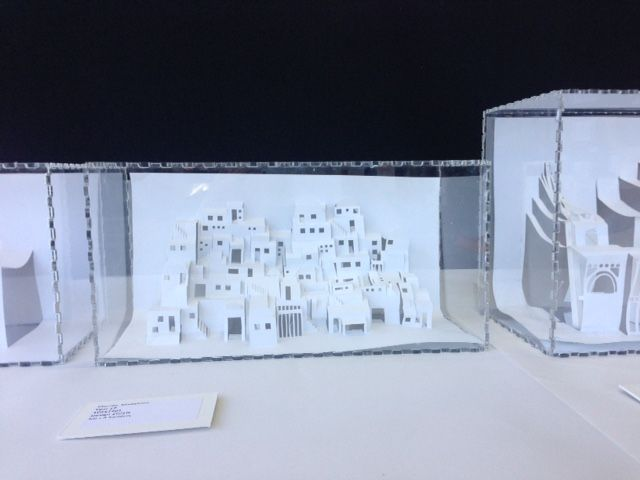Pop up architecture created by students using pop up pro design