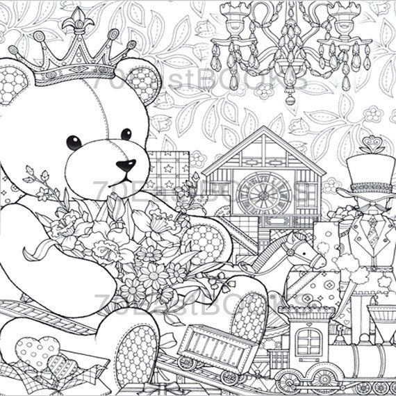 The Night Voyage The Present Coloring Book By Daria Song All