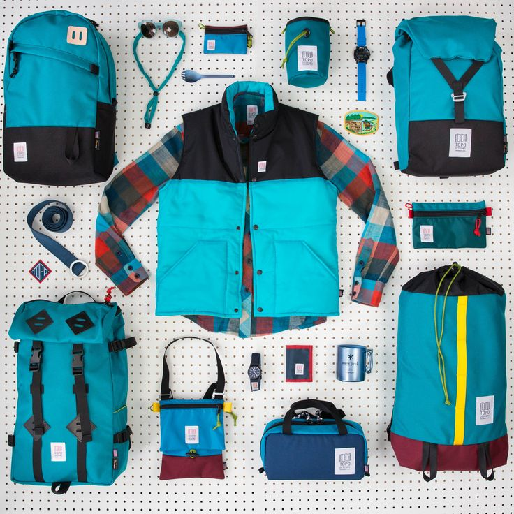 Spring essentials from Topo Designs  http://topodesigns.com/