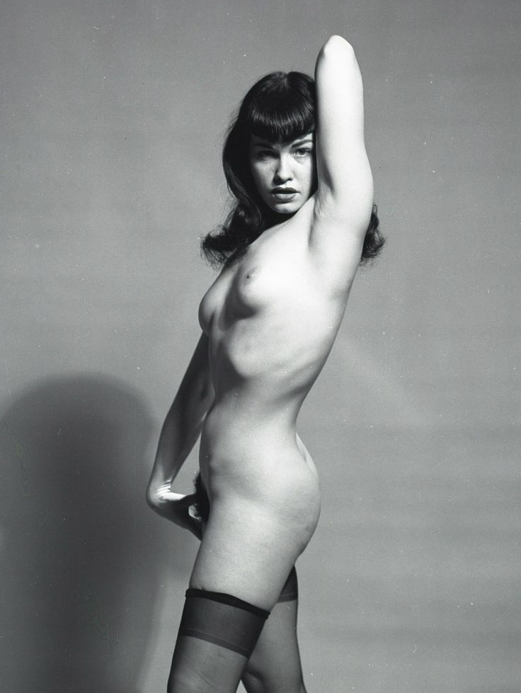 The illegal bettie page photos we almost never saw