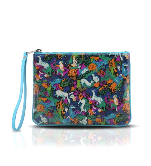 Marc Jacobs Jungle Clutch on glamouronthego.co.uk
