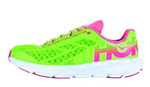 Hoka One One Womens Tracer Shoe 75 Bright Green ** You can get additional details at the image link.
