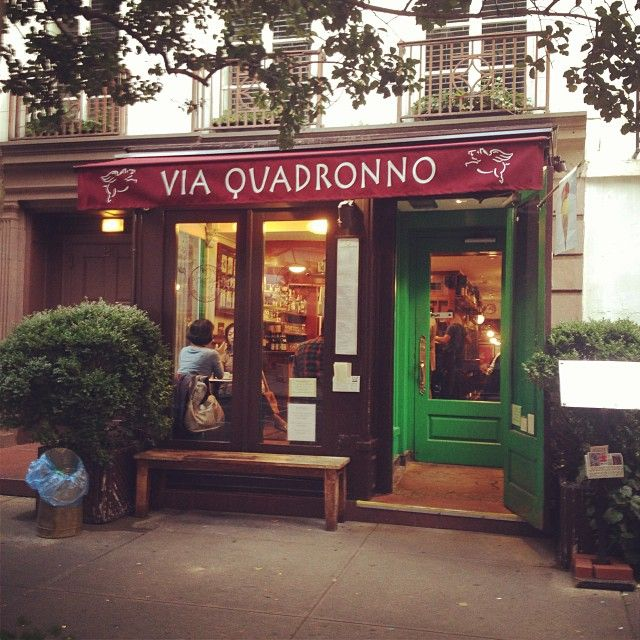 Legit Italian food (they have a sister restaurant in Verona) with the best Cappuccino on the UES (and arguably NYC). Definitely order the Americano panini!