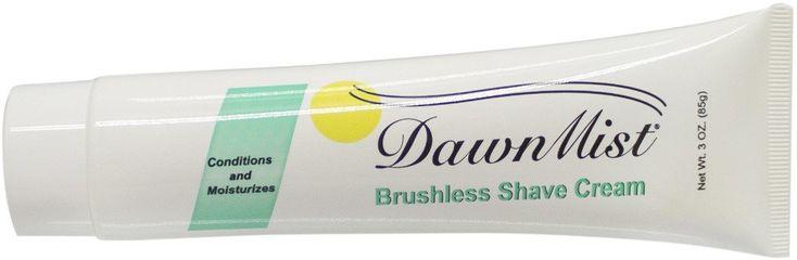 Brushless Shave Cream, 3 oz. Tube - 144 Units
