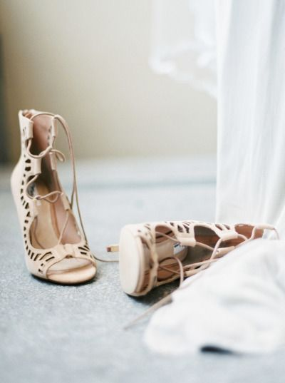 Boho wedding shoes:http://www.stylemepretty.com/little-black-book-blog/2014/11/04/neutral-elegant-bridal-inspiration/ | Photography: Kate Weinstein - http://www.kateweinsteinphoto.com/