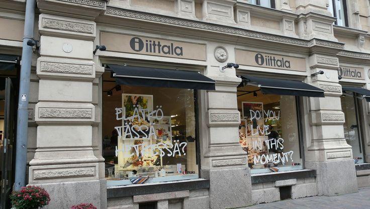 The Iittala store in Helsinki