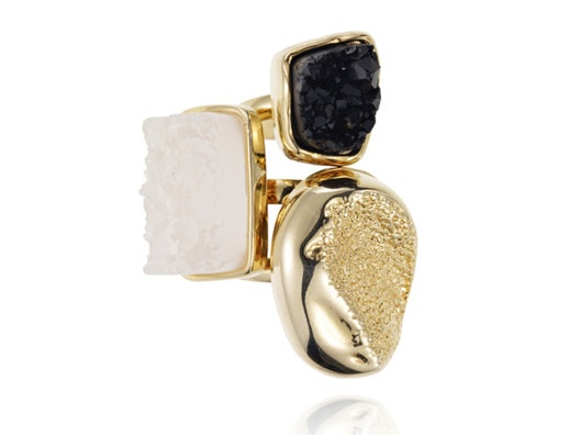 All The Glitter Fades Ring Set by Samantha Wills - love this